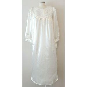 Miss Elaine Satin Sheen Nightgown